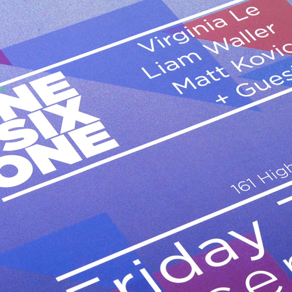 onesixone – Promotional Posters