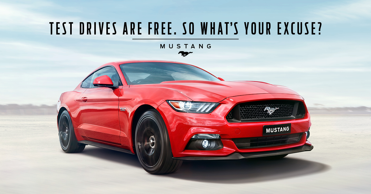 Mustang Remarketing Campaign