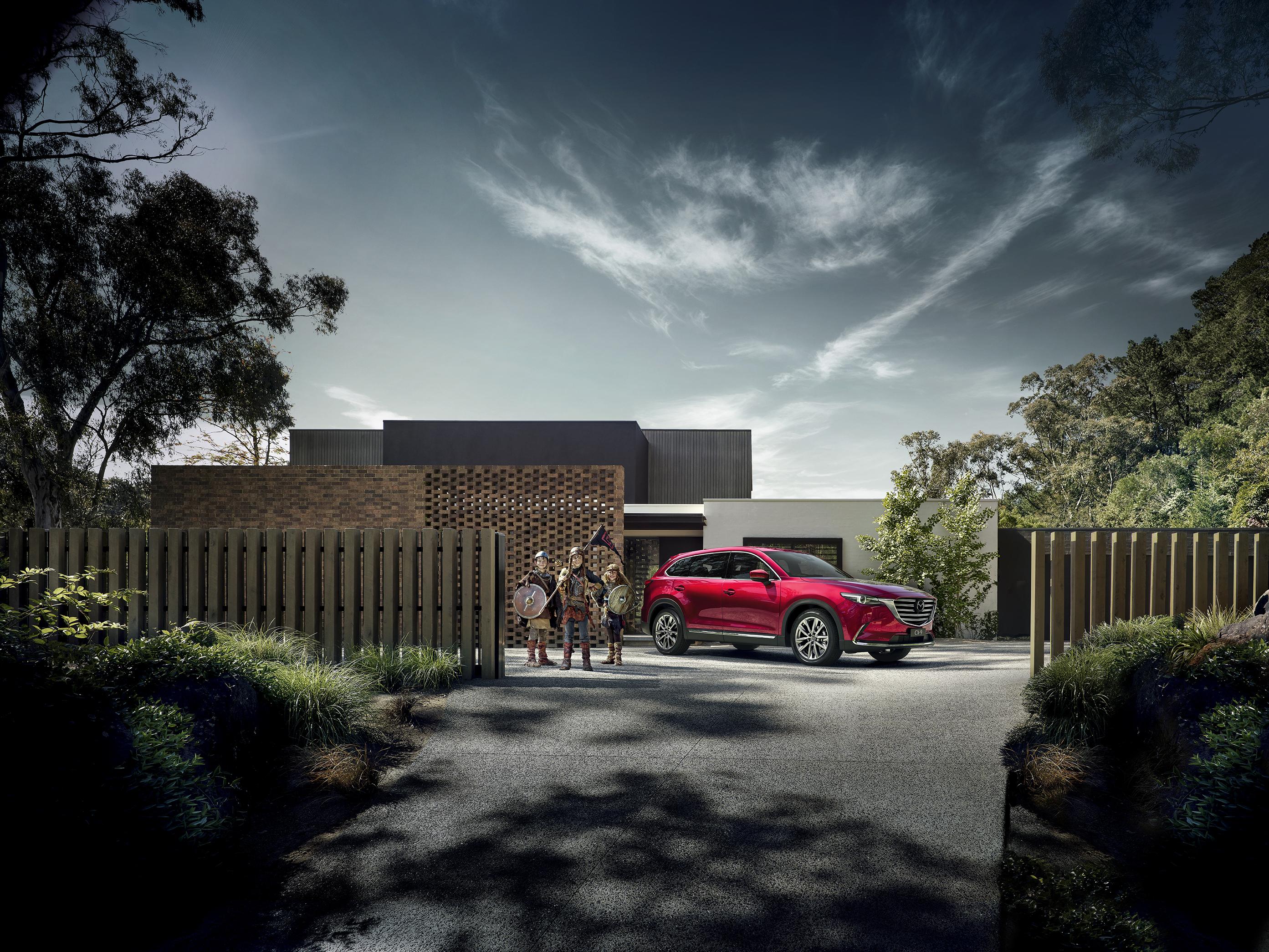 Mazda CX-9 Campaign Image